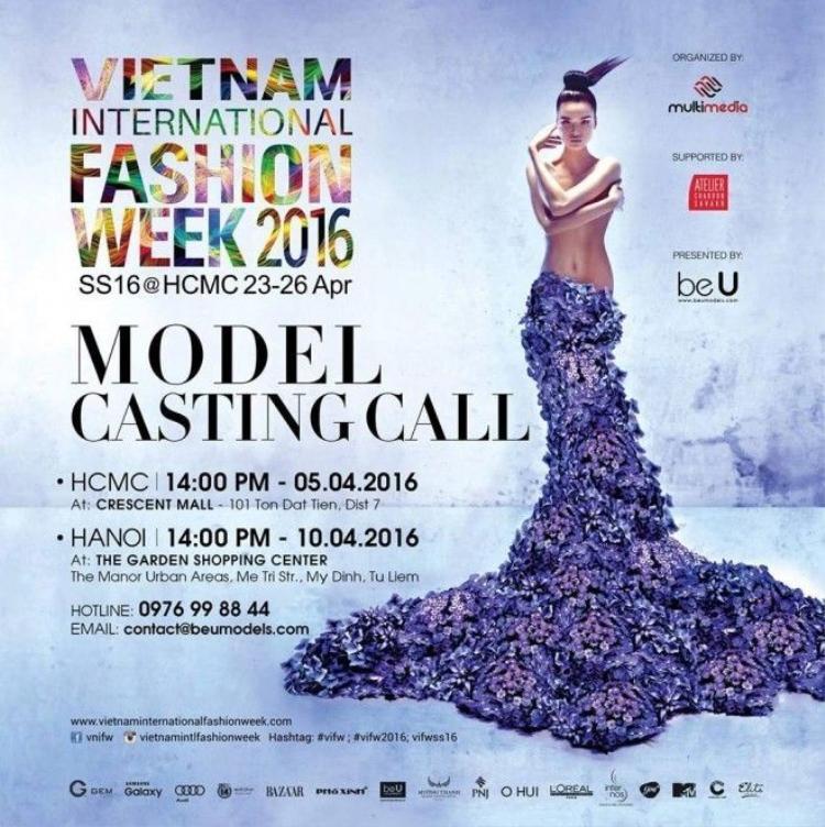 Chà Mi trở thành gương mặt đại diện tuần lễ thời trang quốc tế Việt Nam 2016