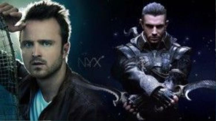 Aaron Paul trong vai Nyx Ulric - một thành viên của đội bảo vệ KingsGlaive bị cuốn vào vòng xoáy rối ren của cuộc chiến tranh