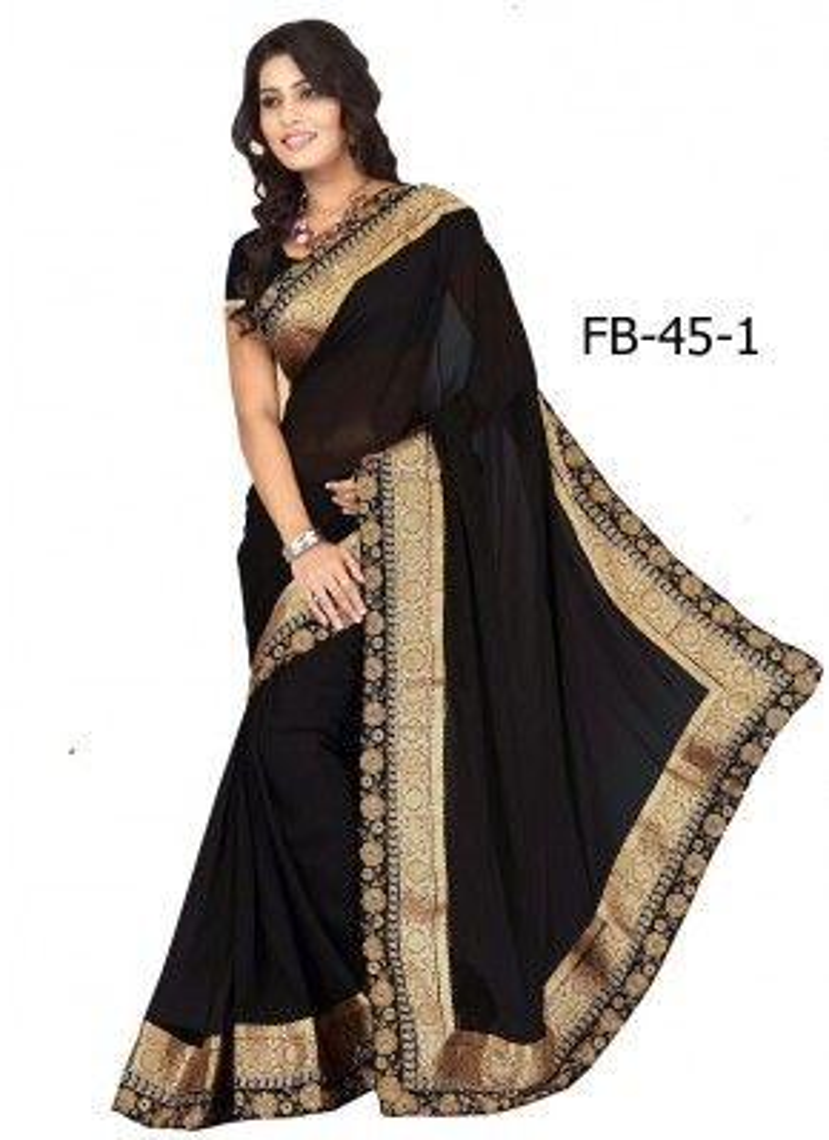 Màu đen và các trang phục Sari màu đậm với biểu tượng chống lại sự tàn ác trong cuộc sống.