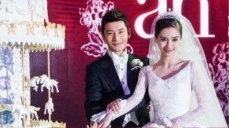 Hôn lễ Angela Baby và Huỳnh Hiểu Minh cũng bị phê bình.