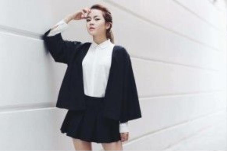 Cô nàng là một trong những gương mặt sáng giá của Vpop khi sở hữu phong cách cực chất.