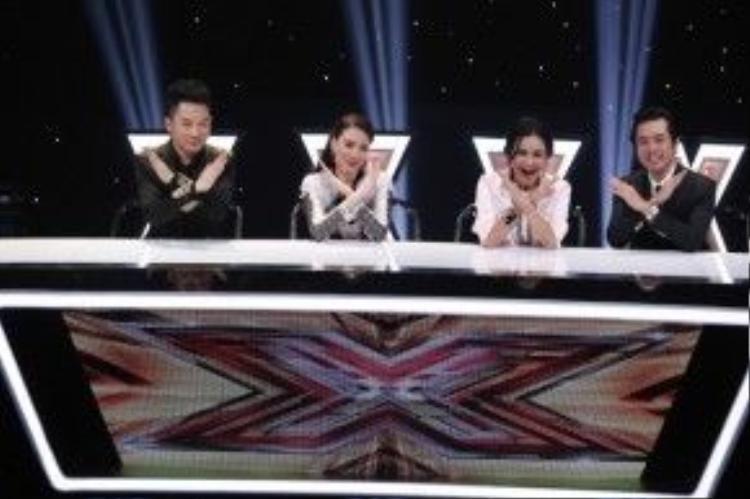Bộ tứ giám khảo X-Factor 2016