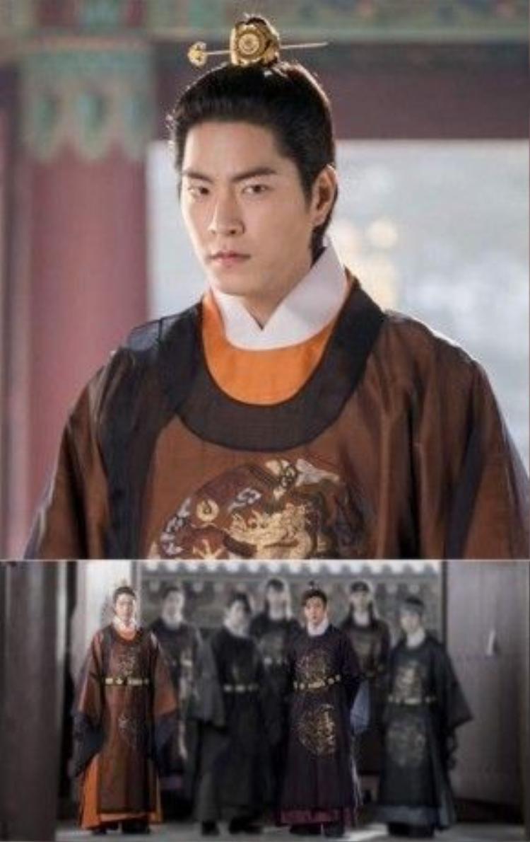 Hong Jong Huyn trong vai Tam hoàng tử - Wang Yo
