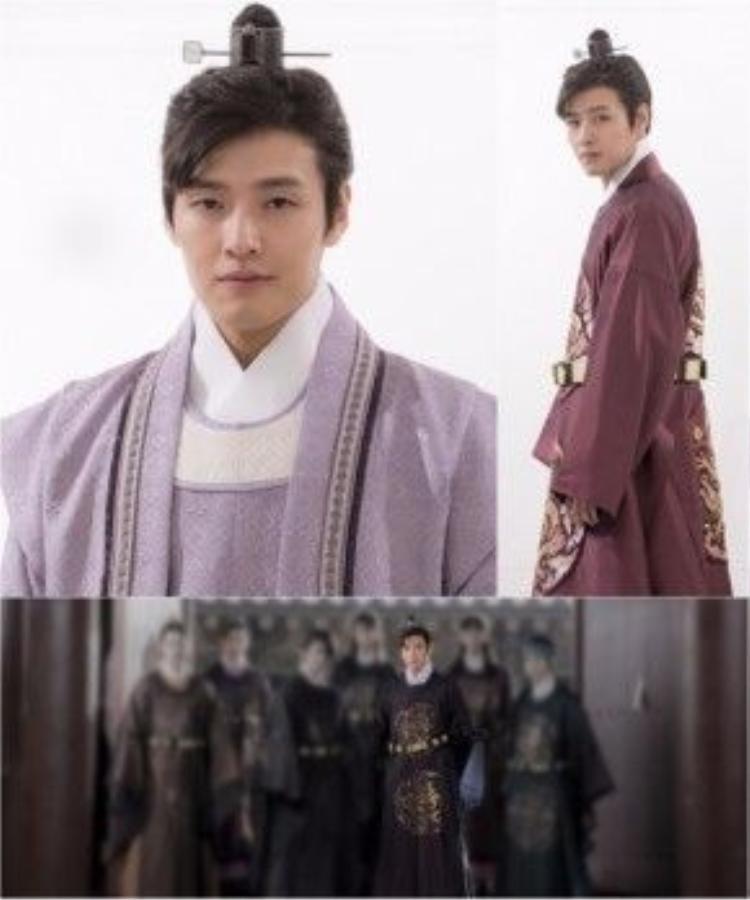 Kang Ha Neul trong vai Bát hoàng tử - Wang Wook