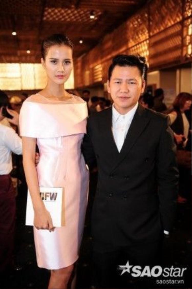 NTK Hoàng Minh Hà cùng người mẫu Hương Ly - quán quân Vietnam's Next Top Model 2015.