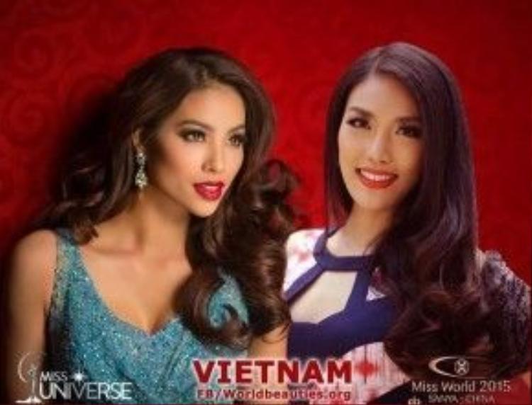 Lan Khuê và Phạm Hương đều xuất thân là người mẫu, có đầy đủ kinh nghiệm, bản lĩnh trên sàn catwalk, cả 2 đại diện đều được đào tạo kỹ lưỡng, bài bản nhất tại hai đấu trường sắc đẹp quốc tế uy tín nhất.
