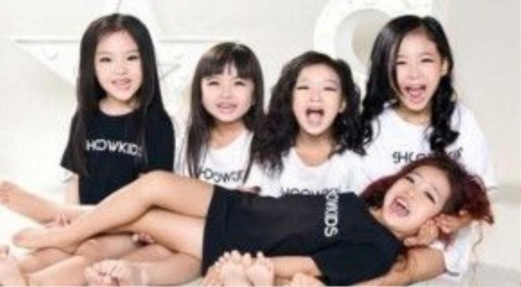 5 nhóc tì hết sức dễ thương của nhóm nhạc Trung Quốc.