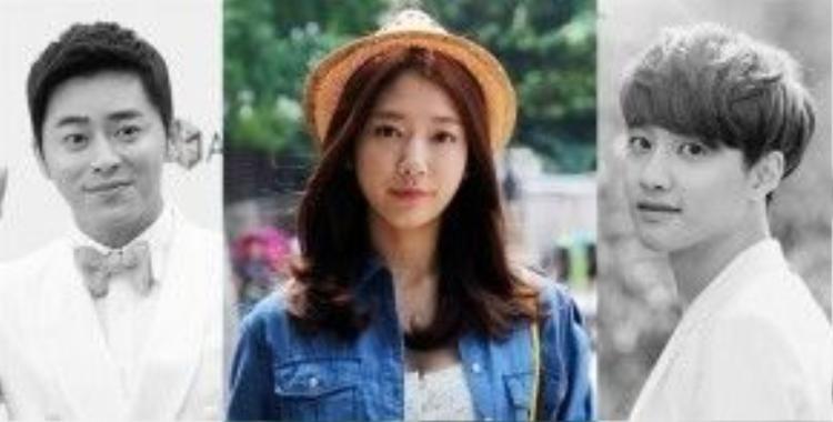 D.O sánh đôi cùng Park Shin Hye Jo Jung Suk trong phim mới.