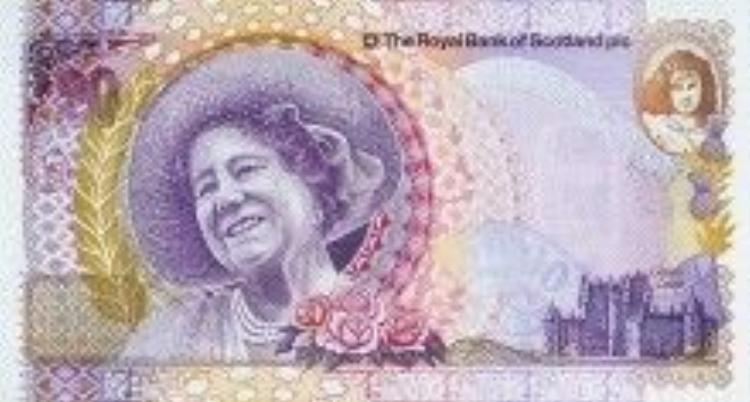 Tiền lưu niệm phát hành nhân dịp 100 năm sinh nhật Nữ hoàng Elizabeth I.
