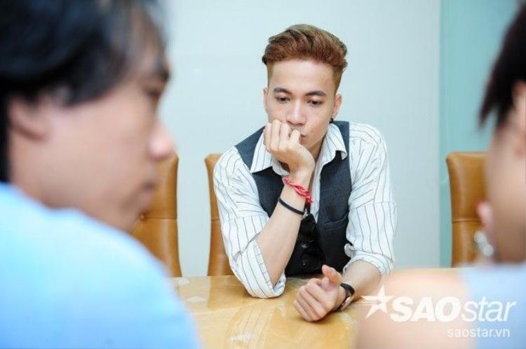 S.T (365) căng thẳng họp ý tưởng cùng Trần Ly Ly trước thềm chung kết