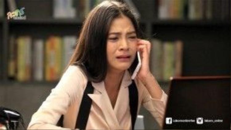 Lee của ngày xưa chỉ biết khóc lóc, than thở về nỗi đau khổ của mình.