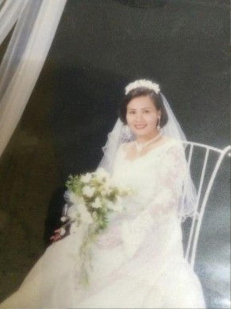 Hình ảnh của chị trước khi tai nạn ập đến.