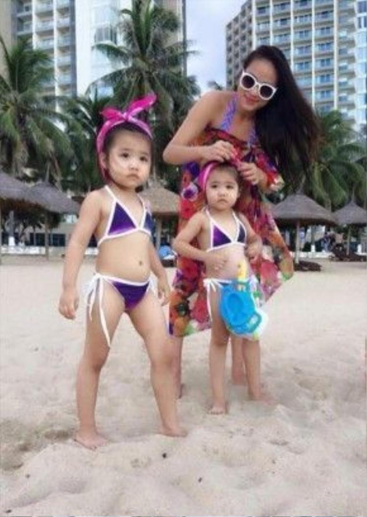 Duyên Anh Idol đang là bà mẹ đơn thân của hai cô công chúa sinh đôi được gần 5 tuổi.