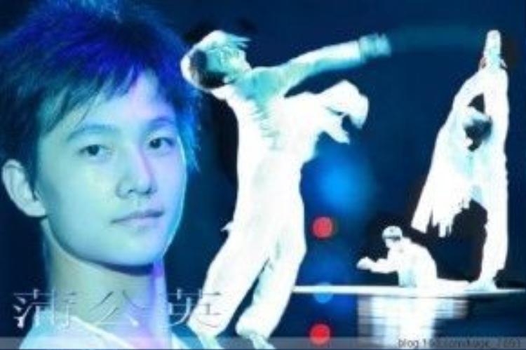Dương Dương đam mê vũ đạo từ nhỏ và rất tài năng.