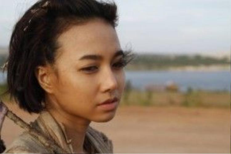 Vai diễn của Đinh Ngọc Diệp trong Chuyện tình xa xứ.