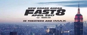 Poster của Fast 8.