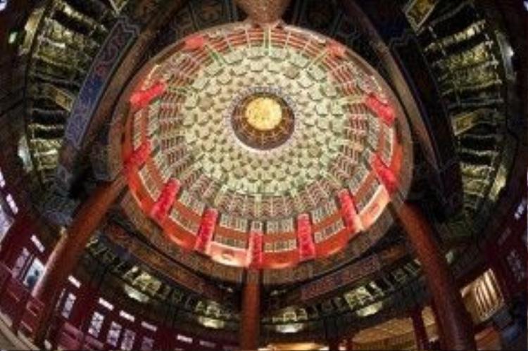 Trần 1 đền thờ ở Bắc Kinh.