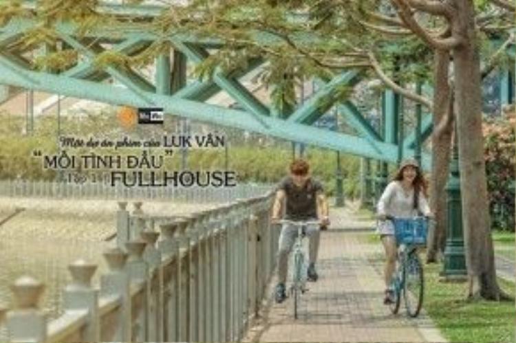 Những hình ảnh đẹp của bộ phim đều nằm ở các địa điểm rất quen thuộc với teen Sài Gòn.