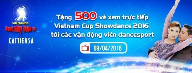 Những kiện tướng dancesport đỉnh nhất thế giới đã sẵn sàng cho Vietnam Cup Showdance 2016