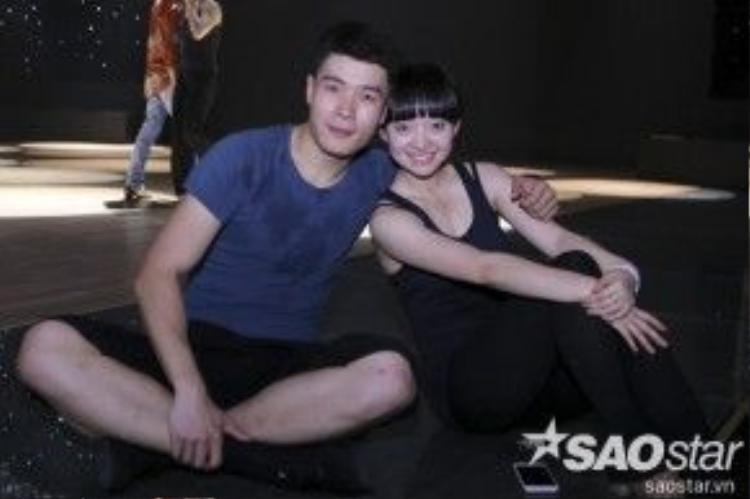Cặp đôi Hoa ngữ Huang Sida và Tian Yuan