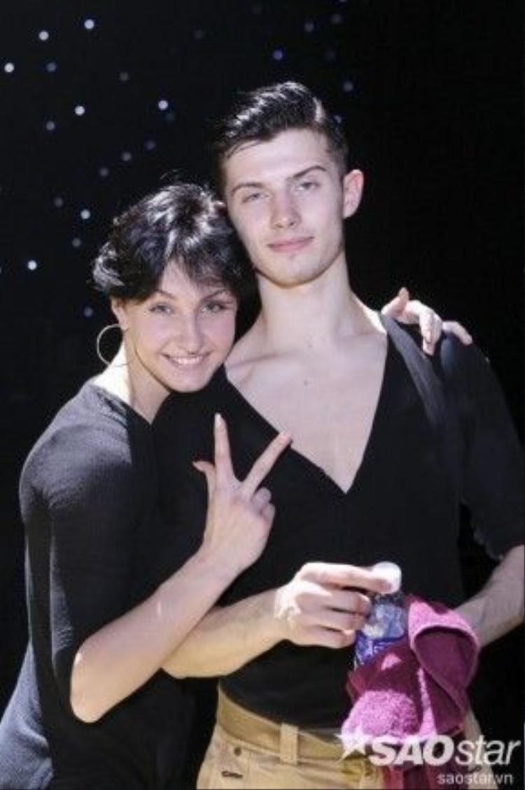 Cặp đôi Maksim Elfimov và Evgeniya churikova đến từ Nga