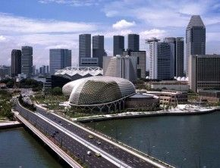 Công trình được chính thức khánh thành vào ngày 12 tháng 10 năm 2002. Ảnh: archnewsnow.
