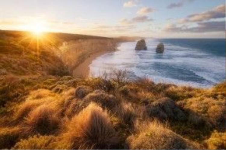 """""""The great ocean road"""" - Con đường biển đẹp nhất Úc."""