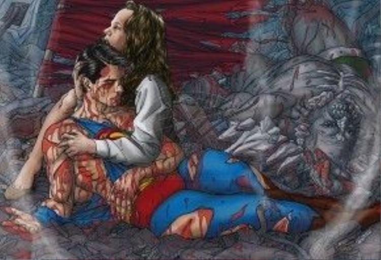 Không đơn thuần chỉ là hài hước và hành động, Batman v Superman đã khoác lên tấm áo u ám đau buồn và 'người lớn' của series The Dark Knight.