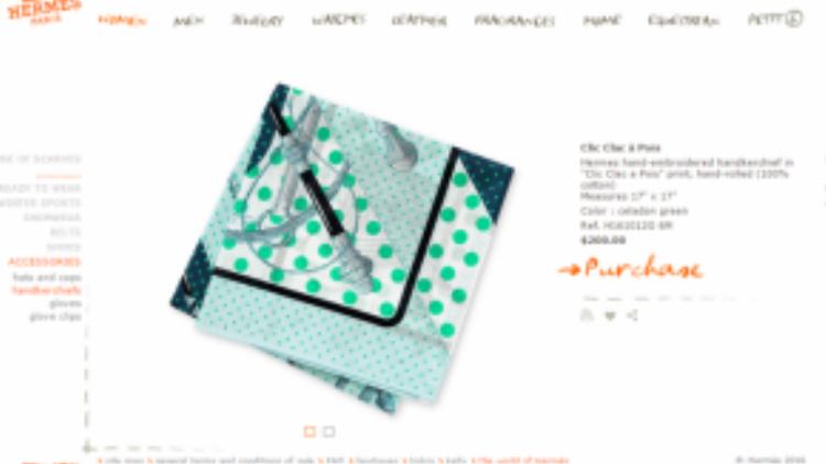 """Chiếc khăn lụa mềm mại, quý phái đặc trưng của giới thượng lưu thuộc thương hiệu Hermes mà """"đệ nhất chân dài"""" sở hữu được bán trên trang online chính thức của hãng là 200 USD."""