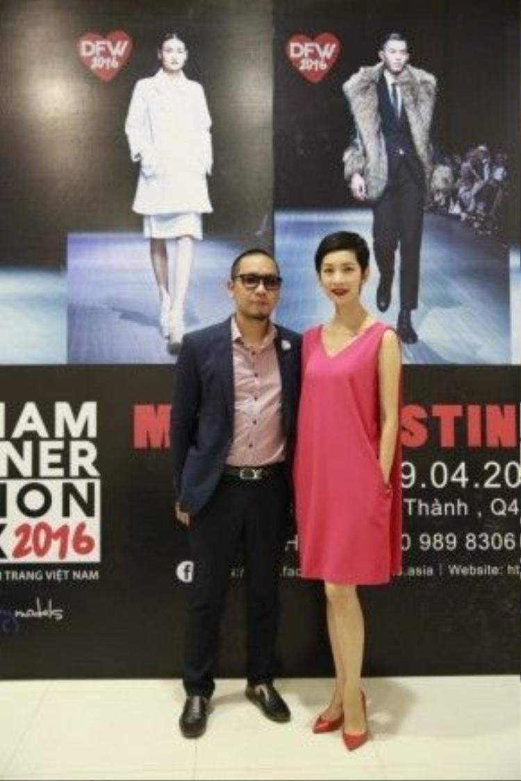 Alex Phạm và Xuân Lan.