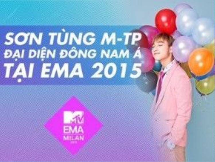 Sơn Tùng M-TP thắng lớn không chỉ bằng giải thưởng mà còn bởi sự quan tâm đặc biệt của giới báo chí và truyền thông tại MTV EMA 2015.