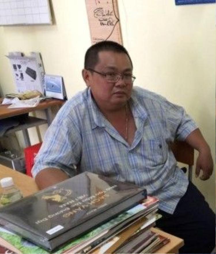 Ông Hồng Phước Kiên - anh trai Minh Béo.