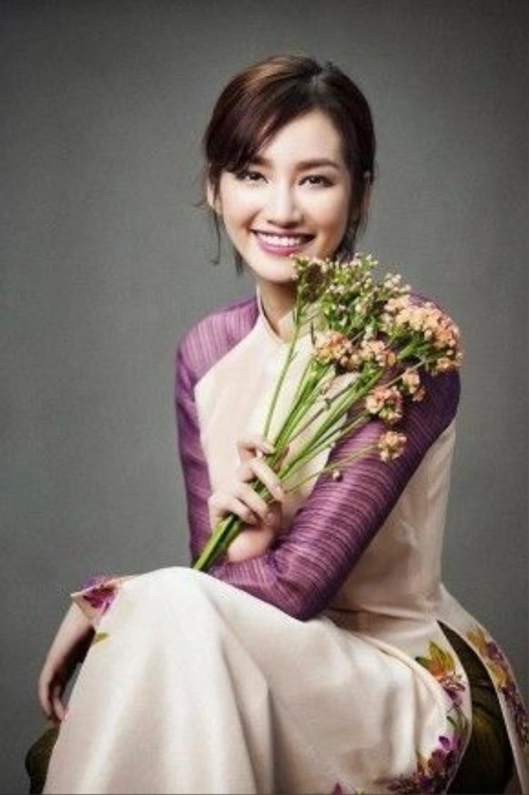 Hoa hậu Trương Tri Trúc Diễm.