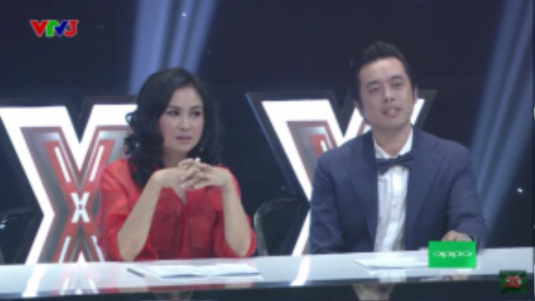 """Giám khảo Dương Khắc Linh bông đùa với thí sinh: """"Em đứng nhì thì ai đứng nhất em? Sơn Tùng hả?"""""""