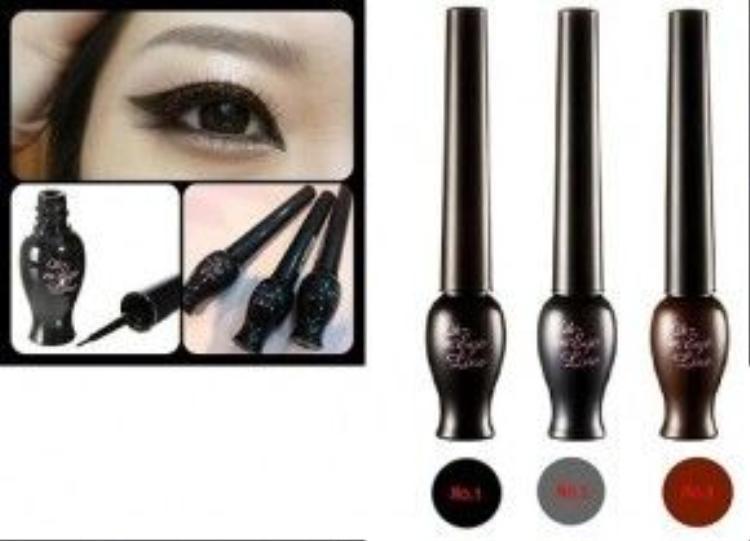 Sản phẩm có 3 màu : đen, xám, nâu. 3 màu thịnh hành trong trang điểm mắt.