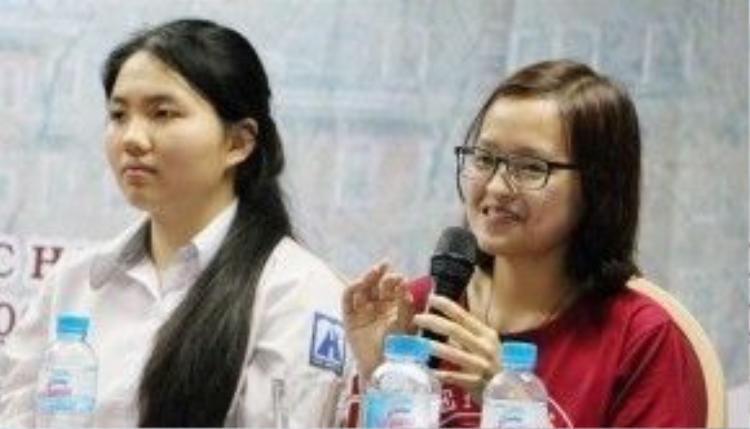 Tôn Hiền Anh kể về quá trình apply học bổng.