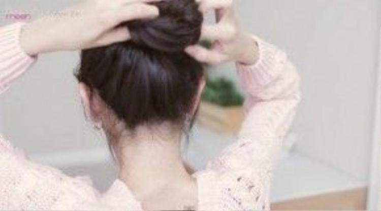 Làm phồng tóc.