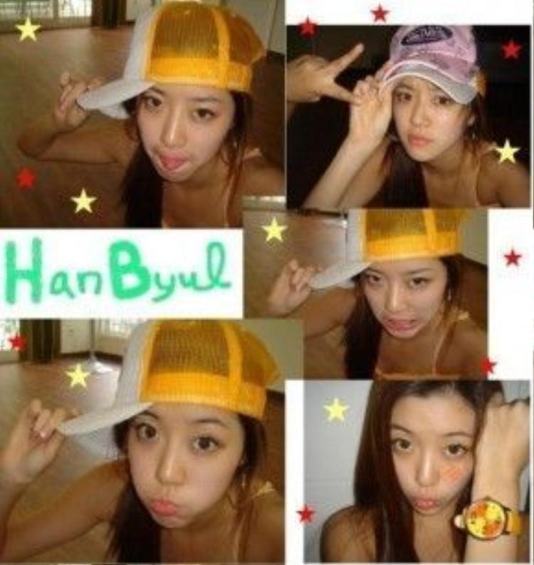 Park Han Byul cũng thuộc Top sau Hàn chưa bao giờ bị nghi vấn thẩm mỹ.