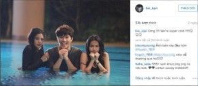 Để đủ bộ, anh chàng thủ vai Nat - nam diễn viên Thassapak Hsu - tất nhiên cũng nhận được sự chú ý của fans Việt.