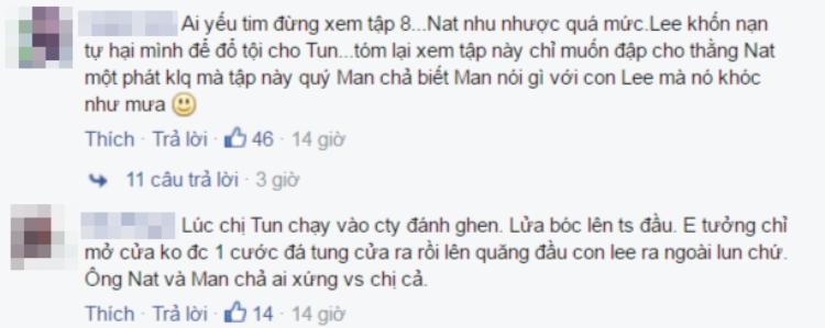Cộng đồng mạng Thái, Việt tranh nhau ném đá Nat sau tập 8 Tình yêu không có lỗi