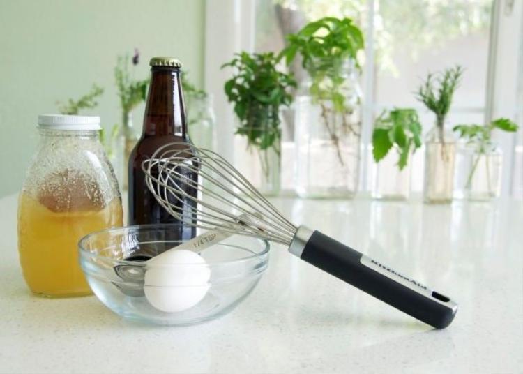 Dưỡng tóc chưa bao giờ dễ đến thế từ nguyên liệu trong chính căn bếp của bạn
