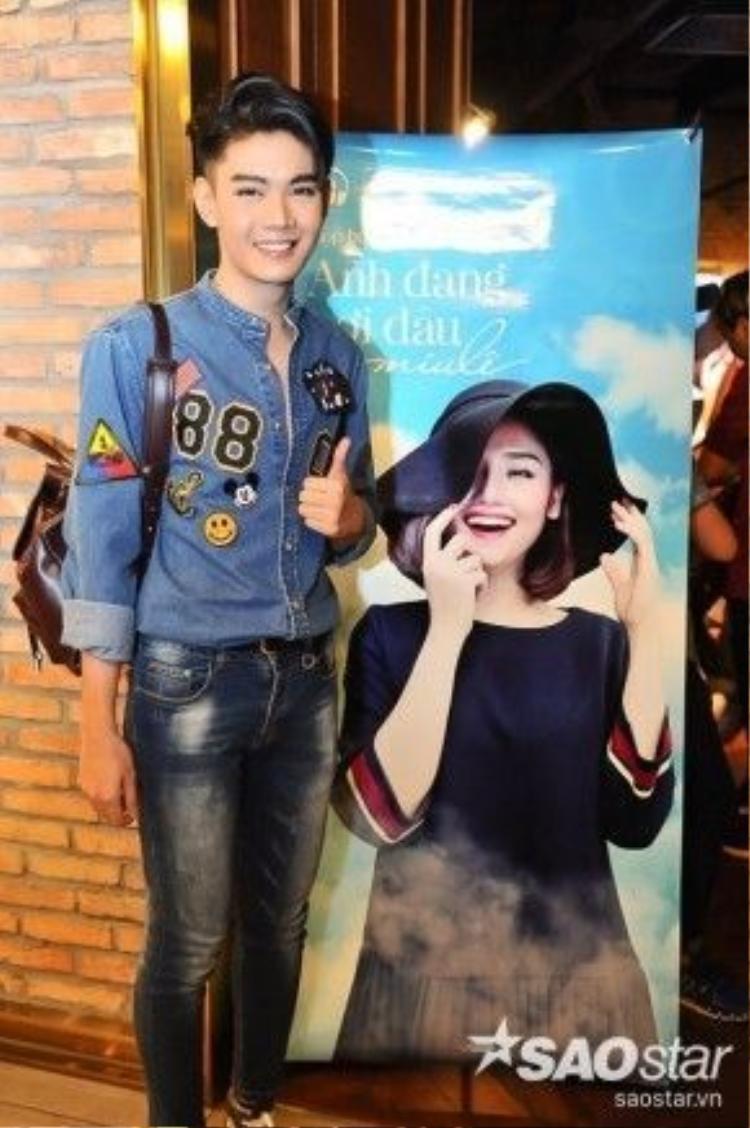 """Anh cũng có những chia sẻ thú vị: """"Đào Bá Lộc đã nghe nhạc của Miu Lê từ khi còn học cấp 3 và thực sự yêu thích giọng hát của cô ấy""""."""