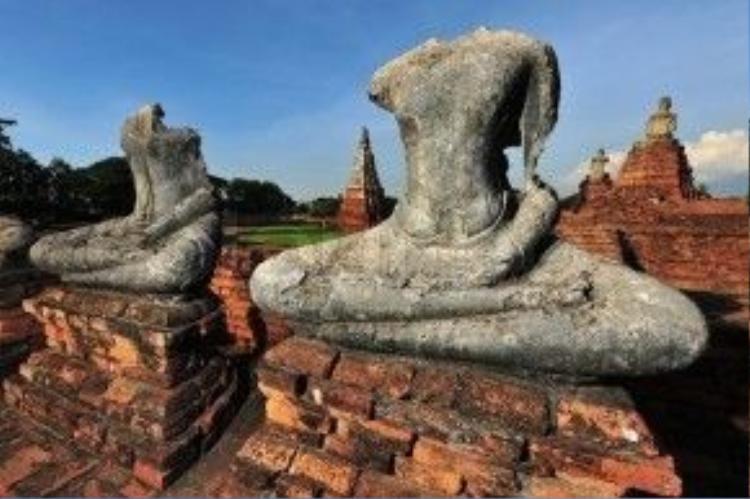 Nhiều đầu tượng Phật được phát hiện trong các bảo tàng nổi tiếng ở Mỹ. Tuy nhiên, khi chính phủ Thái Lan yêu cầu bảo tàng trả lại di sản, họ đã từ chối. Ảnh: colourbox.