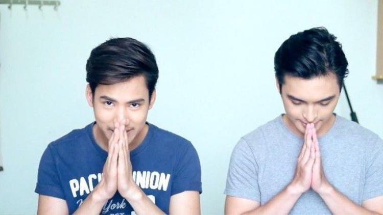 Clip: Học tiếng Thái với 2 trai đẹp để tự tin đi quẩy Tết té nước