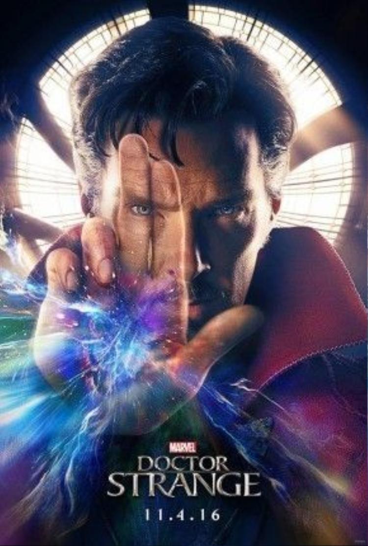 Poster nhân vật Dr. Strange vừa được Marvel công bố.