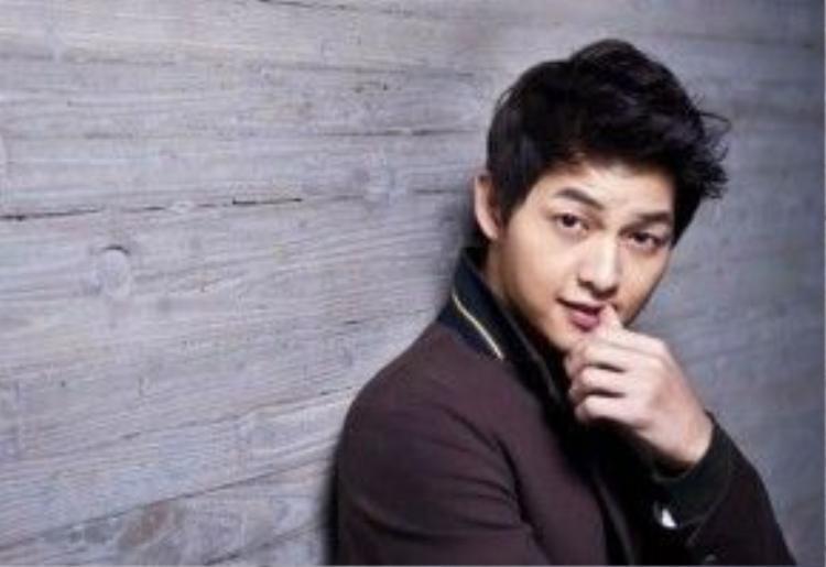 Song Joong Ki là sao nam được yêu thích nhất Trung Quốc năm 2016.