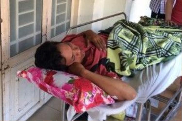 Anh Phong bị đánh xuất huyết não và chấn thương phần mềm.