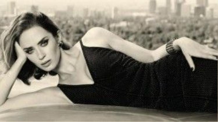 Minh tinh người Anh - Emily Blunt -là lựa chọn hàng đầu cho những vai nữ gai góc trong phim Hollywood hiện nay.
