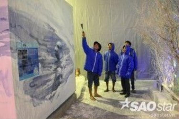 Theo ban tổ chức, đây là hoạt động ý nghĩa nhằm góp phần nâng cao nhận thức về trách nhiệm bảo vệ môi trường trước thực trạng Trái Đất ấm dần lên và băng đang tan dần ở Nam - Bắc cực.