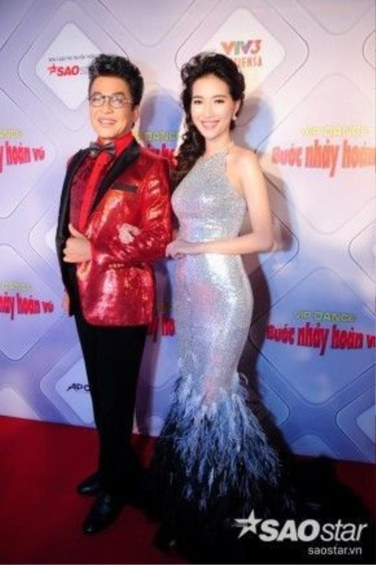 MC Thanh Bạch và Mỹ Linh